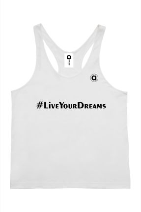 Allyson #LiveYourDreams Mens Singlet