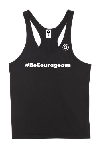 Allyson #BeCourageous Mens Singlet