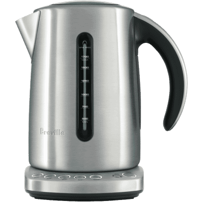Breville - 1.7L Smart Kettle Brushed Stainless Steel