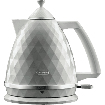 Delonghi - 1.7L Brillante Kettle - White