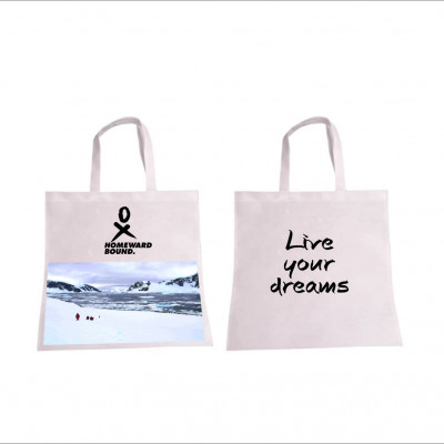 Allyson Live your dreams shopping bag