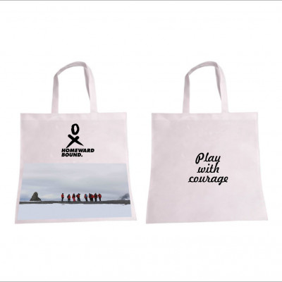 Allyson Play with courage shopping bag