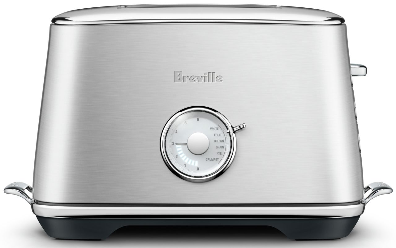 Breville - The Toast Select Luxe 2 Slice Toaster - Brushed Stainless Steel