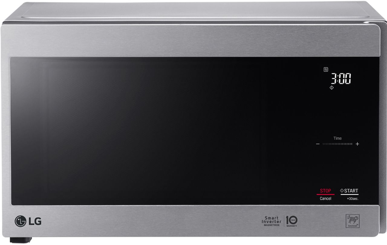 LG - 42L 1200W NeoChef, Smart Inverter Microwave - Stainless Steel