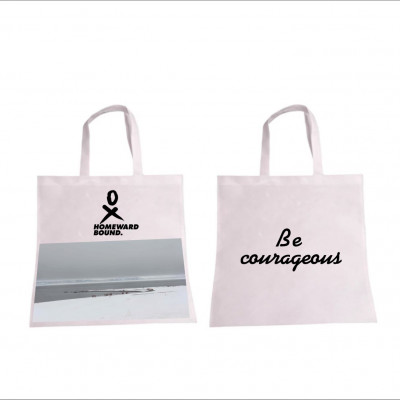 Allyson Be Courageous shopping bag