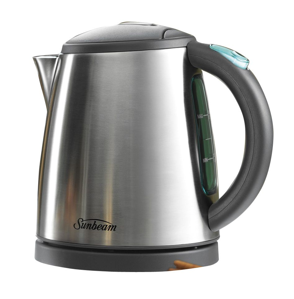 Sunbeam Kettle - 1lt Small LightWeight - Stainless Steel