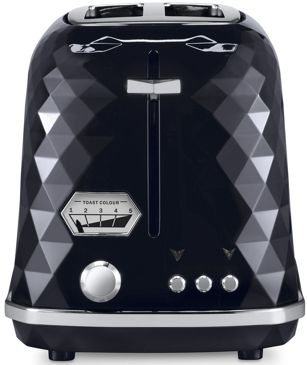 Delonghi - Brillante 2 Slice Toaster - Black
