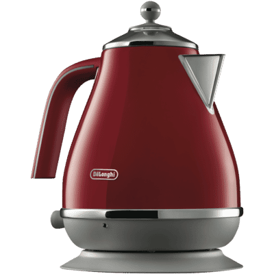 Delonghi - Icona Capitals Kettle - Red