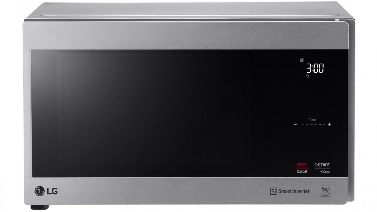 LG - 25L 1100W NeoChef, Smart Inverter Microwave - Stainless Steel