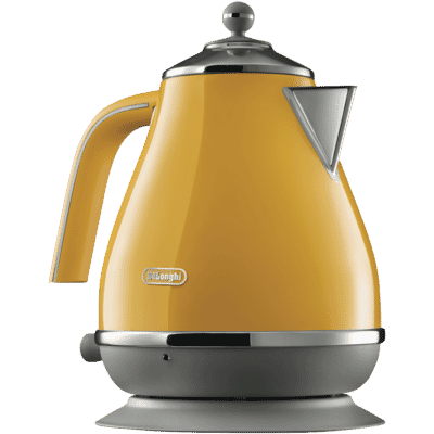 Delonghi - Icona Capitals Kettle - Yellow